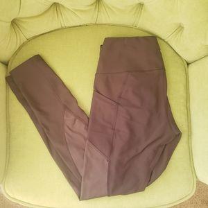 90 Degree Pocket Leggings - Muted Purple